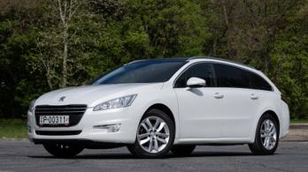 Használt autó: Peugeot 508 SW e-HDI (2012)