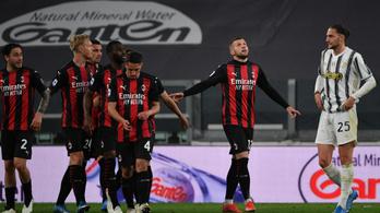 Bántóan simán nyert a Milan a Juve otthonában