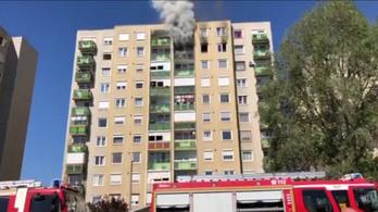 Szabadnapos tűzoltó mentett életeket egy nyíregyházi paneltűznél