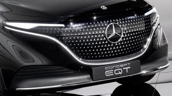 Meglepetés: Mercedes elektromos luxus-egyterű, Kangooból