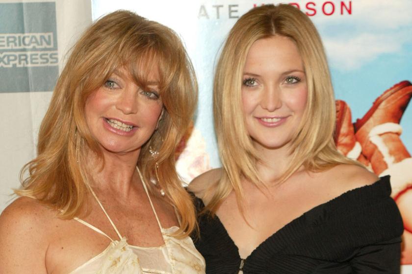 A 75 éves Goldie Hawn fantasztikusan néz ki: Kate Hudsonnel imádni való anya-lánya képet készítettek