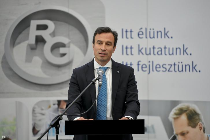 Orbán Gábor a Richter Gedeon Nyrt. vezérigazgatója