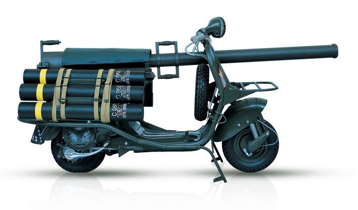 Vespa 150 TAP - 1956