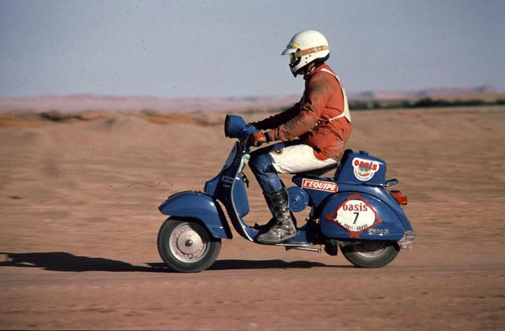 Marc Simonot a Dakaron - 1980