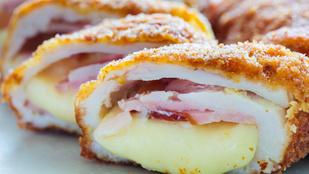 Goudával és baconnel töltött karajszeletek – így készítheted el a legegyszerűbben