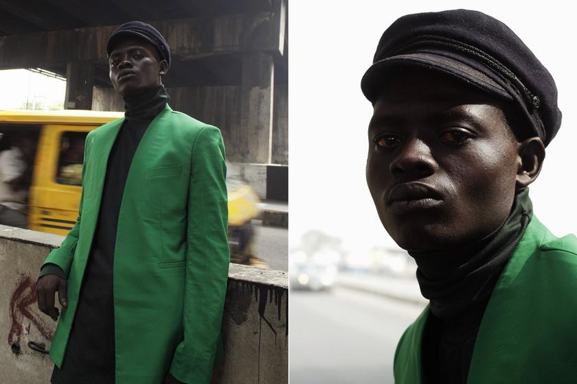 Véletlenül lett modell a hajléktalan férfiből: egy híd alatt figyeltek fel rá