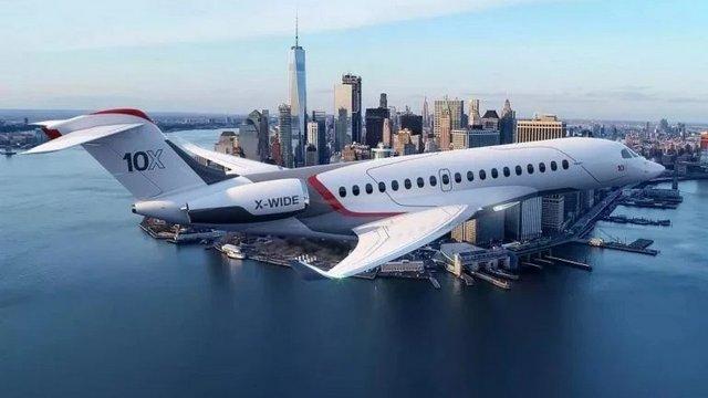 Itt a legújabb luxusmagán-repülő
