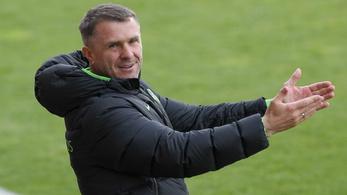Szerhij Rebrov lett az év edzője
