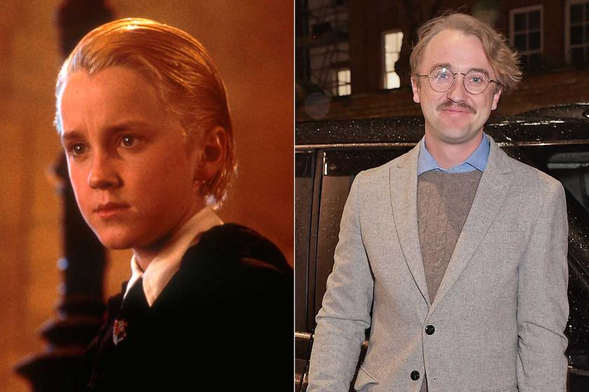 A Harry Potterben angyalarcú, szőke gonosztevőt alakított: a 33 esztendős Tom Felton mellett ma már elmennél az utcán