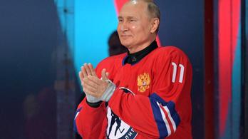 Putyin nyolc gólt ütött egy jégkorongmeccsen