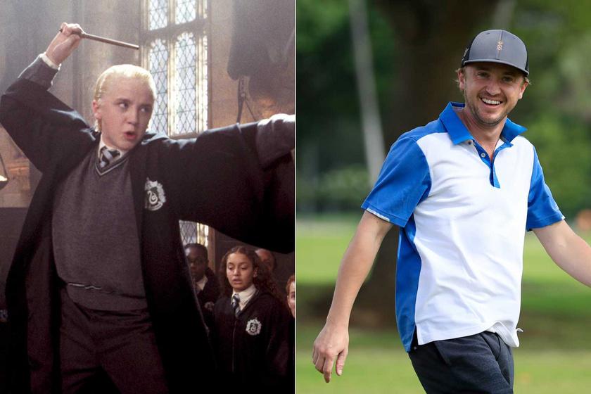 Az biztos, hogy Tom Felton Draco Malfoyként beírta magát minden idők leghíresebb gonosztevői közé. A 33 esztendős színész a valóságban egyáltalán nem elvetemült, szinte nincs olyan fotó, amelyen ne mosolyogna.