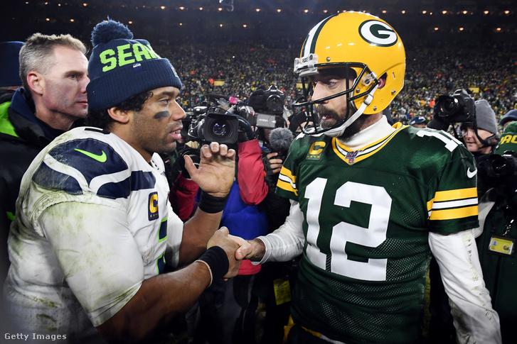 Wilson és Rodgers a rájátszásban is vívott már egymással parázs meccset