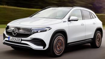 Két erősebb változat érkezik Mercedes EQA-ból