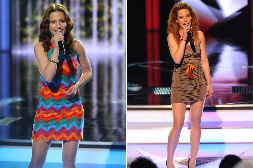 Szirota Jennifer 2012-ben a Csillag Születik színpadán.