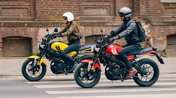 Bemutatták a Yamaha XSR125-öt