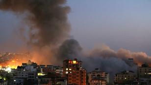 Sokkoló felvételek az izraeli rakétatámadásokról