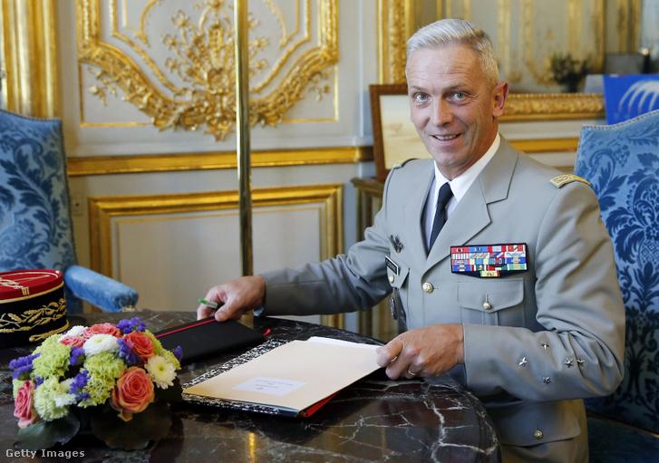 Francois Lecointre francia vezérkari főnök