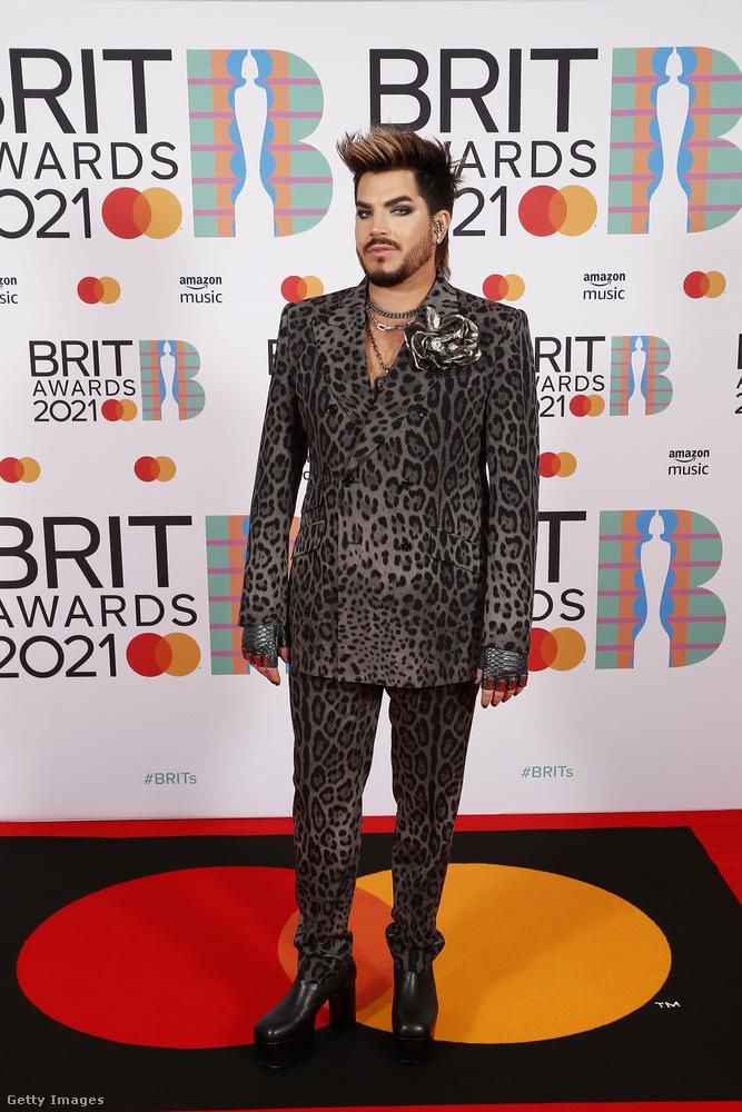 Adam Lambert ezúttal egy visszafogottabb párducmintát választott,