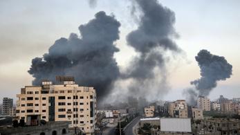 Újabb rakétákat lőttek ki szerda hajnalban Izraelben