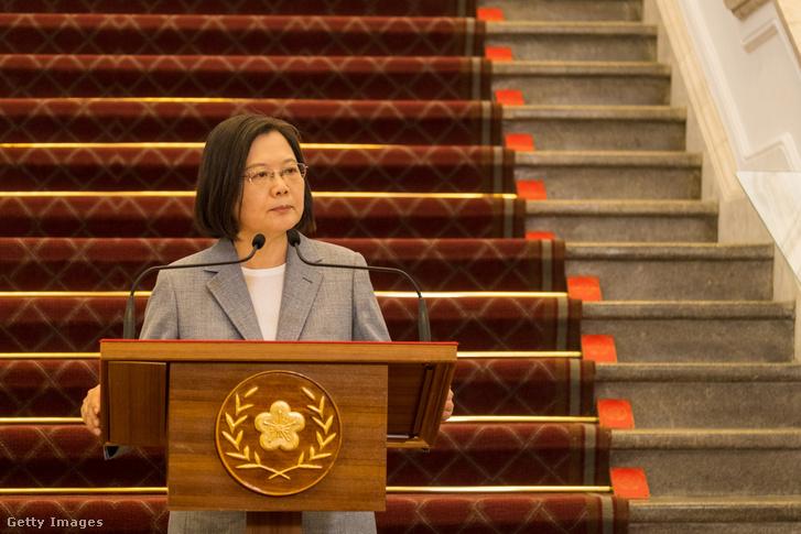 Csaj Jing-ven tajvani elnök