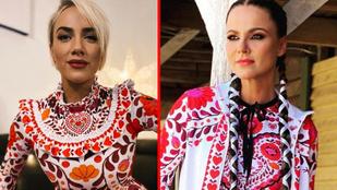 Tóth Gabinak vagy Péter Szabó Szilviának áll jobban a magyaros-népies Sugarbird-design?