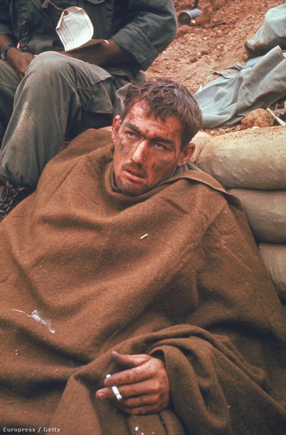 1969. Sokkos állapotba került amerikai katona. A hatvanas évek utolsó évei a vietnami háború legkeményebb évei voltak.