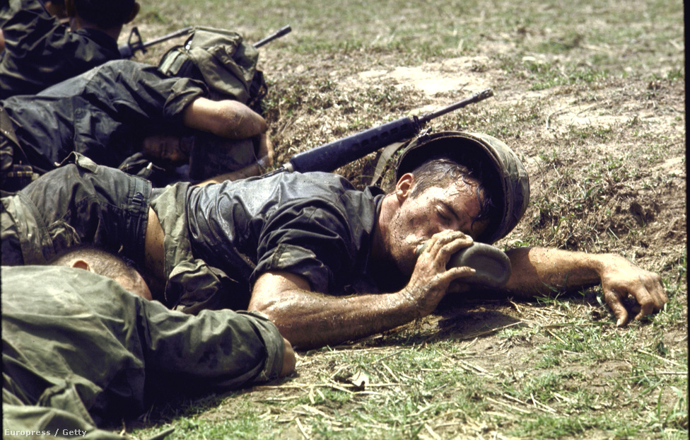 1970. Szomjas amerikai katona