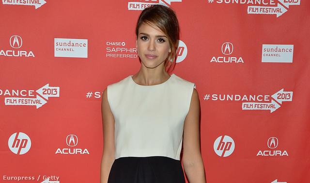 Jessica Alba a Sundance filmfesztiválon