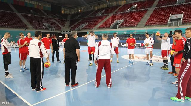 Válogatott edzés spanyol VB-n