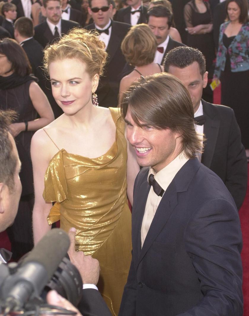 Ez a fotó házasságuk utolsó évében készült az Oscar-díjátadón. A színésznő arca sokat elárul.
