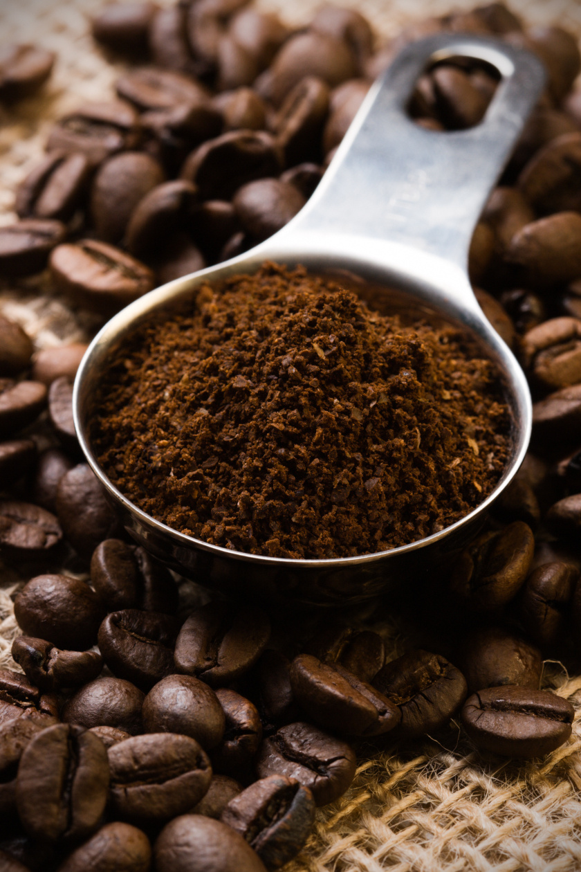 őrölt kávé álló ok