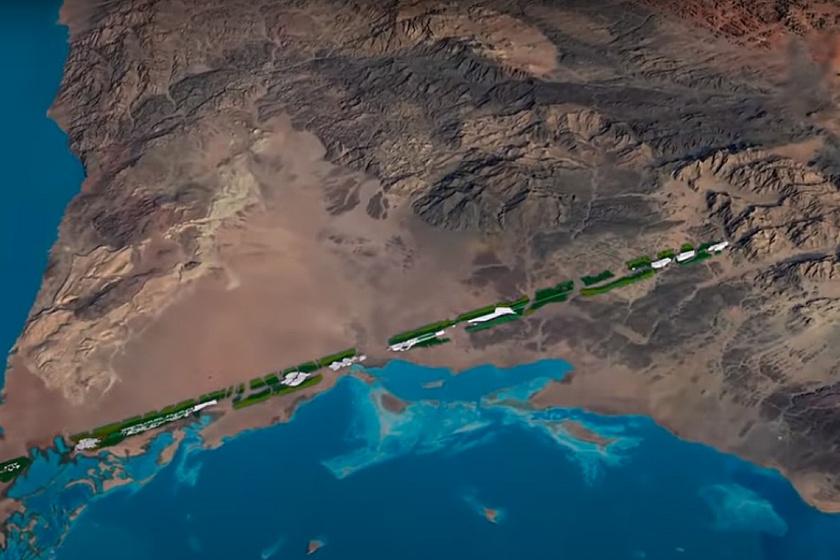 170 kilométer hosszú várost terveznek, nem lesznek utcái: környezetvédelmi szempontból építkeznének így Szaúd-Arábiában