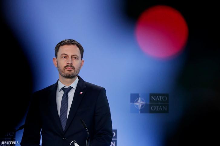Szlovákia kormányfője, Eduard Heger.