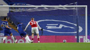 Hihetetlen góllal nyert az Arsenal a Chelsea otthonában – videó