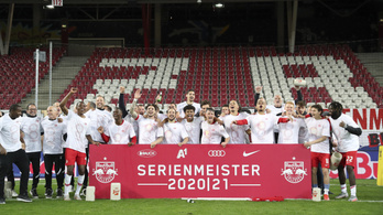 Sorozatban nyolcadszor osztrák bajnok a Salzburg