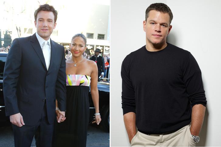Ben Afflack, Jennifer Lopez és Matt Demon