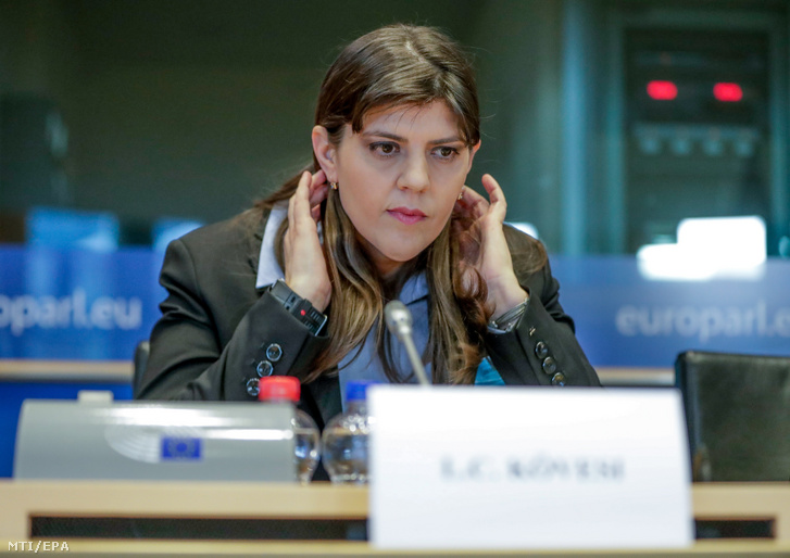 Laura Codruta, az Európai Ügyészség vezetője