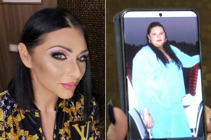 Tina 140 kiló is volt, most ilyen karcsú modell: Emilio felesége dögös ruhákba bújt