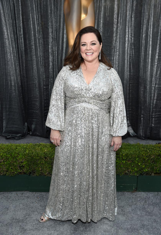 A 2019-es SAG Awardson egy csillogó, ezüst Lorane estélyiben tündökölt.