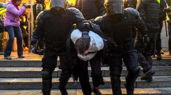 Az oroszok nincsenek elragadtatva a Navalnij-párti tüntetésektől