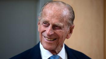 Bélyeget bocsát ki Fülöp herceg emlékére a brit királyi posta