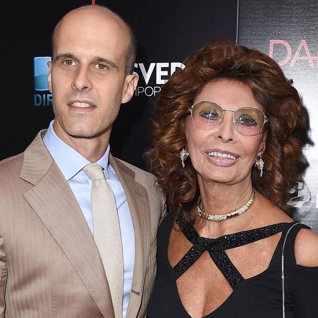 Ez a rendező Sophia Loren ritkán látott fia: Edoardónak gyönyörű családja van