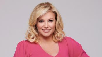 Liptai Claudia az RTL Klubon cukrászkodik