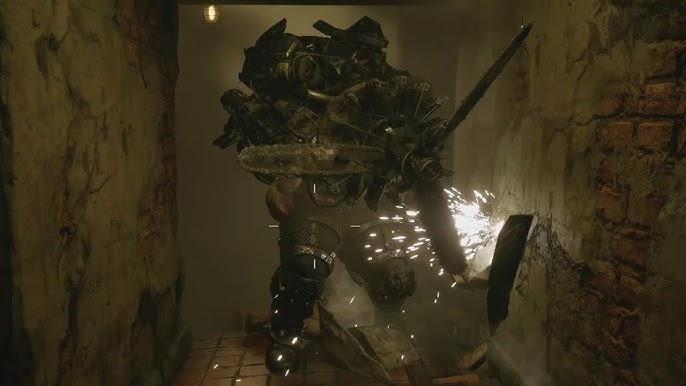 A Sturm nevű propellerfejű szörny a Resident Evil Village-ben (Forrás: Capcom)