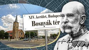Bosnyák katonák gyakorlatoztak Zuglóban – ma tér viseli nevüket