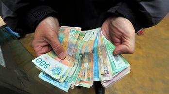 Szerbiában 214 ezer forintnyi dinár lesz az átlagfizetés