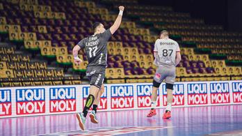 Négygólos hátrányban a Veszprém a BL-negyeddöntőben
