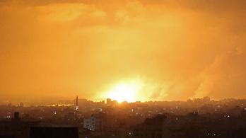 Folytatódott a rakétaháború Izraelben, összehangolt akciót indított a légierő