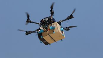 A lengyeleknél már drónnal viszik ki a rendelést
