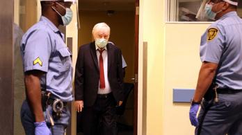 Ítéletre vár Hágában az egykori szerb hadseregparancsnok, de már járni is alig tud